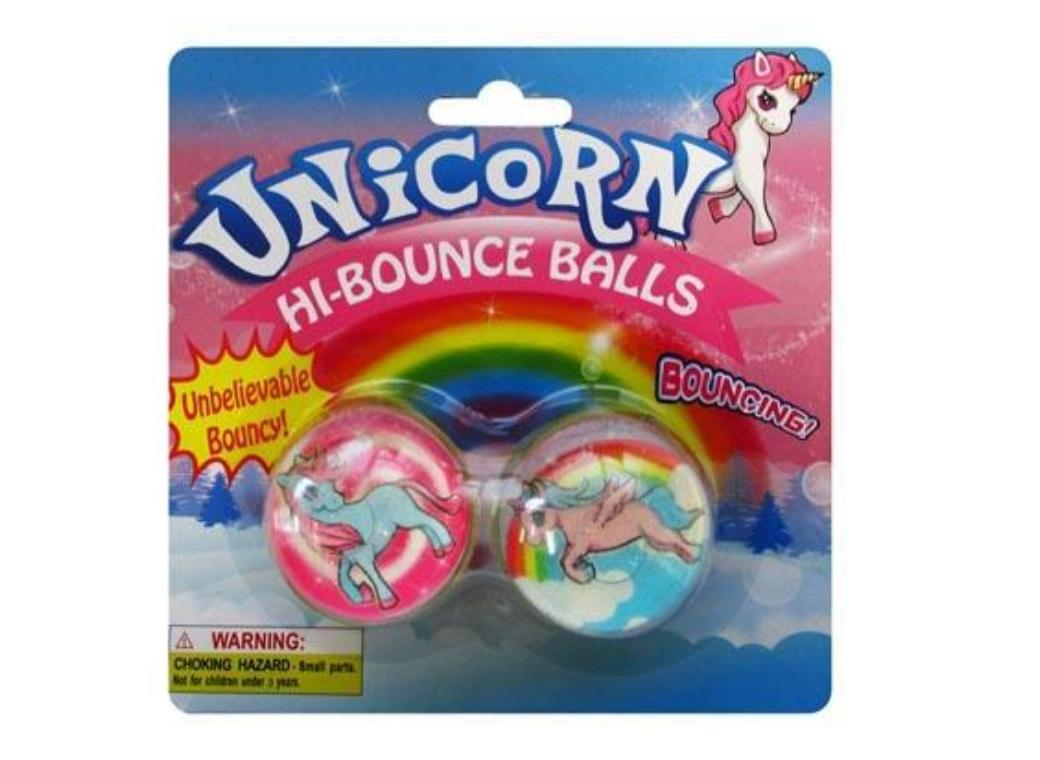 Unicorn Bounce Balls 2pk