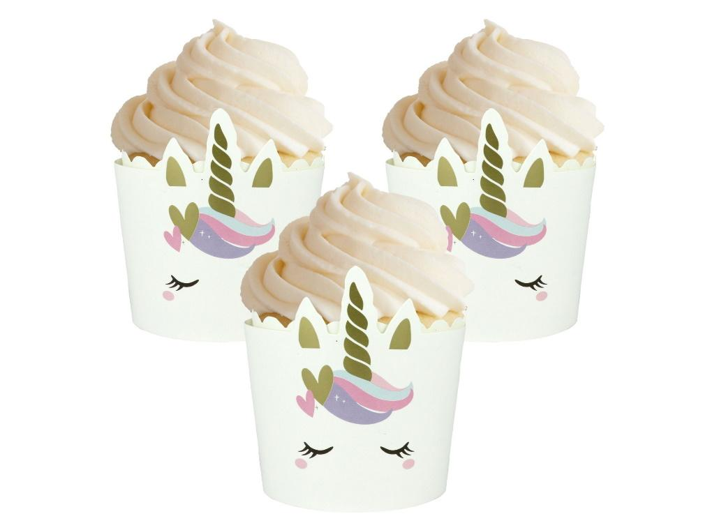 Unicorn Baking Cups 12pk