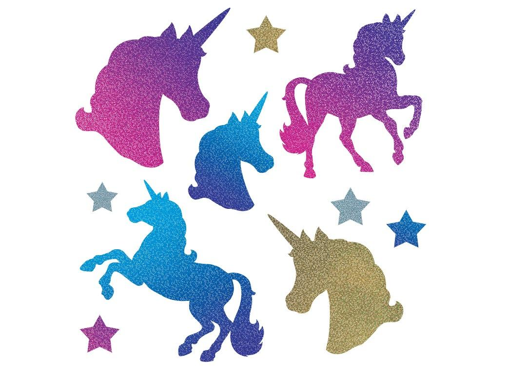 Unicorn Cutout Decorations 10pk