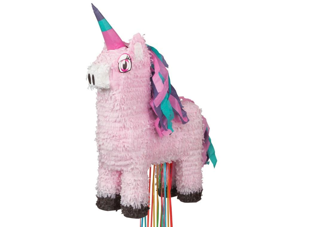 Unicorn Pull-String Pinata