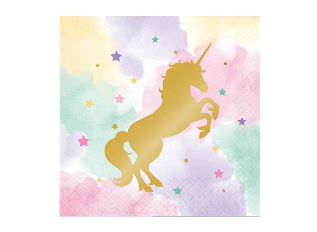 Unicorn Sparkle Lunch Napkins 16pk