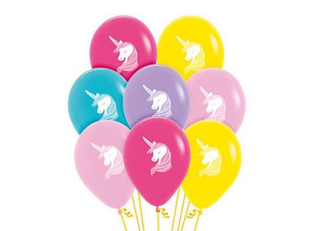 Unicorns Fashion Balloons 12pk