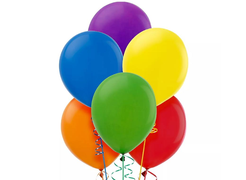 Value Balloons 15pk - Assorted