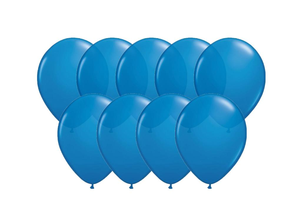 Value Mini Balloons 50PK - Royal Blue