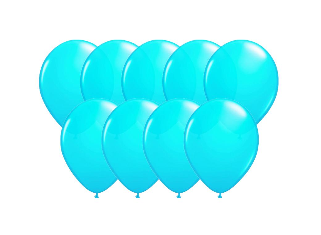 Value Mini Balloons 50PK - Caribbean Blue