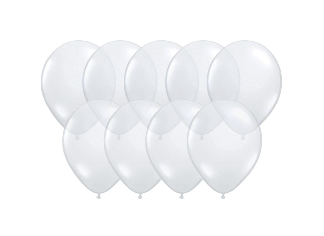 Value Mini Balloons 50PK - Clear
