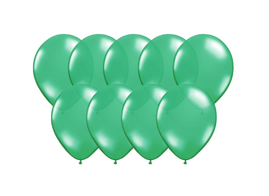 Value Mini Balloons 50PK - Festive Green
