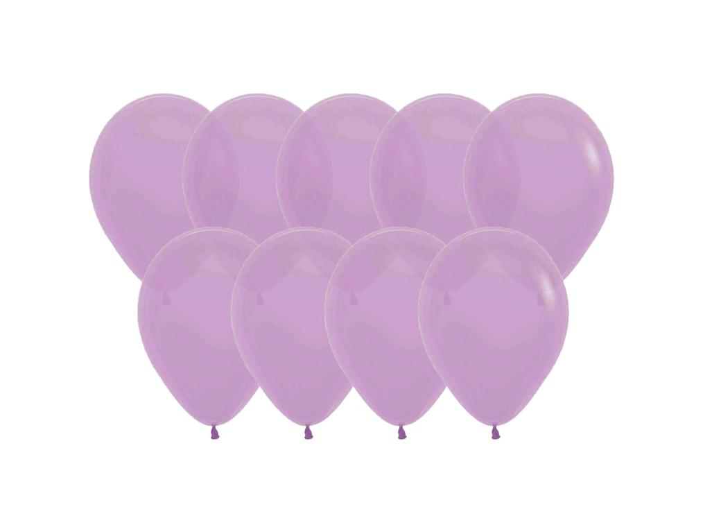 Value Mini Balloons 50PK - Lavender