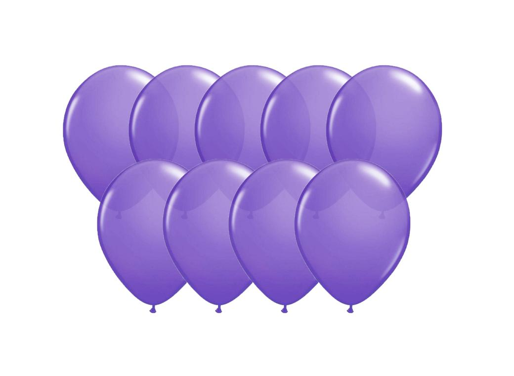 Value Mini Balloons 50PK - New Purple