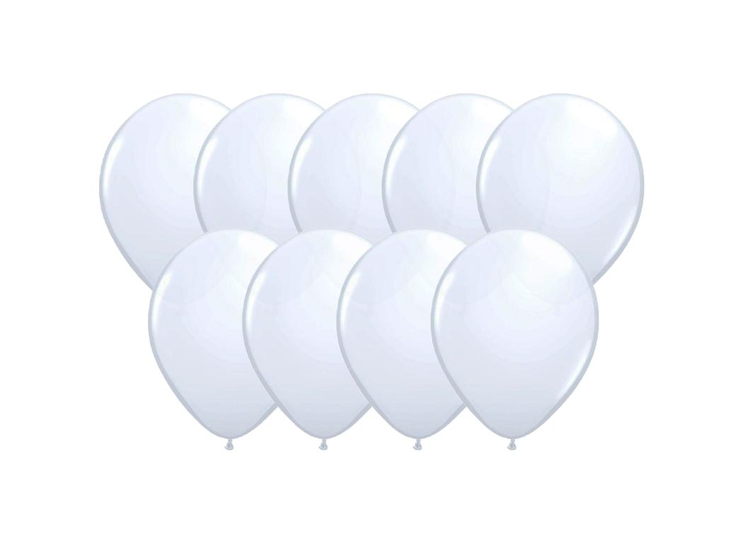 Value Mini Balloons 50PK - White