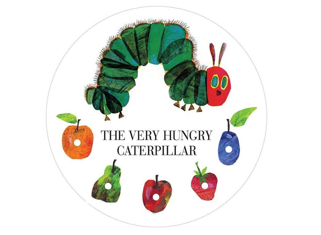 Edible Icing Image - Very Hungry Caterpillar Round
