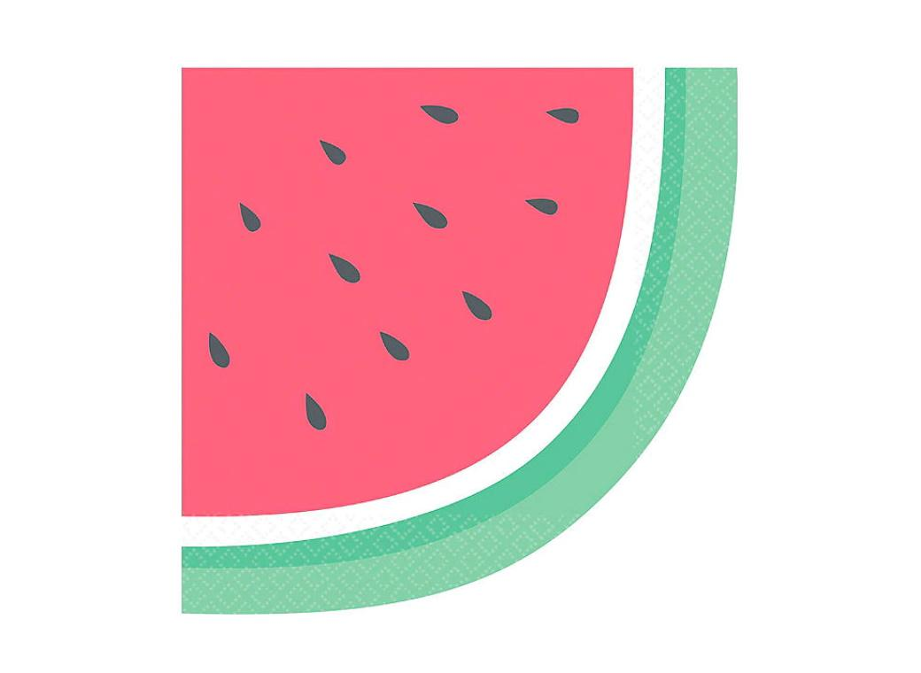 Just Chillin Watermelon Lunch Napkins 16pk