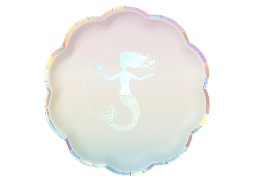We Heart Mermaids Plates 12pk