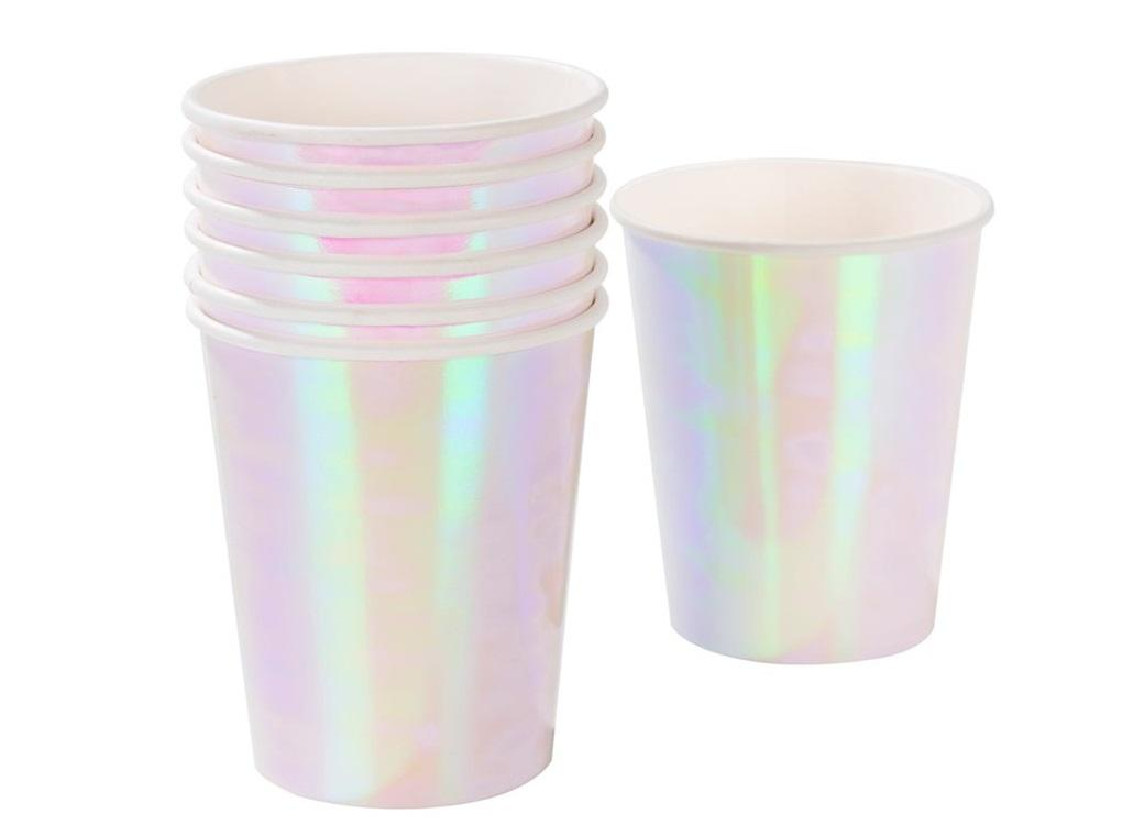 We Heart Pastels Iridescent Cups 12pk