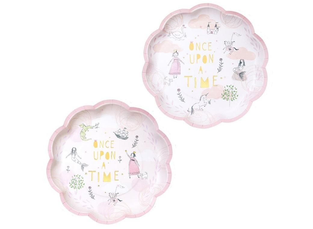 We Heart Fairytale Plates 12pk