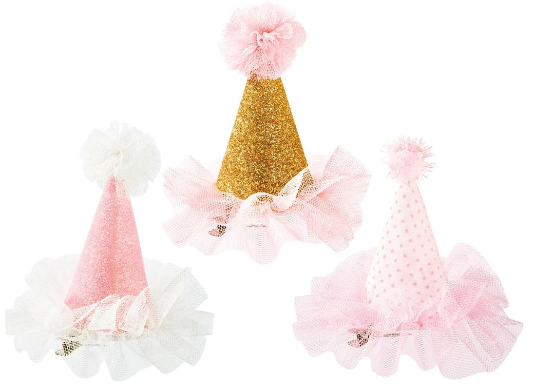 We Heart Pink Mini Party Hat