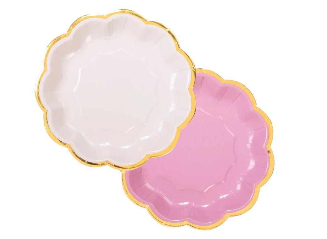 We Heart Pink Plates 8pk