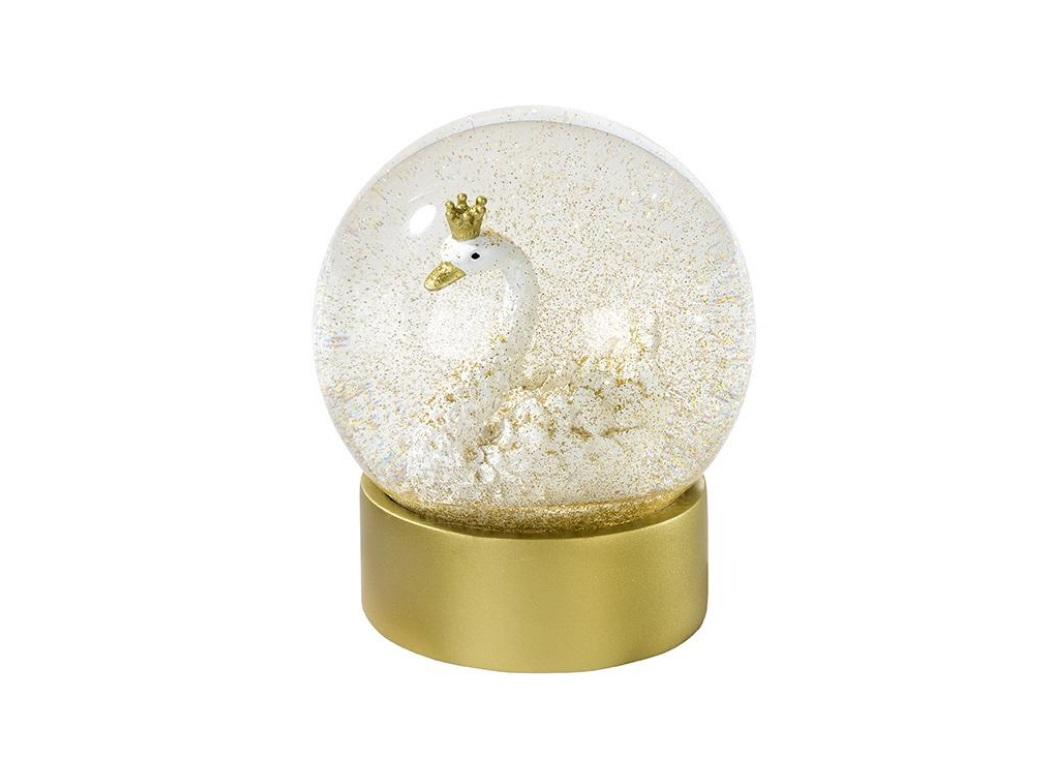 We Heart Swans Snow Globe