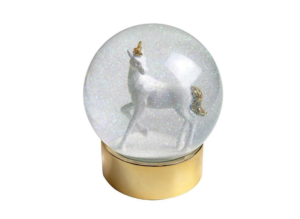 We Heart Unicorns Snow Globe