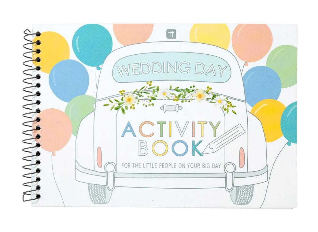 Boho Bride Wedding Activity Book
