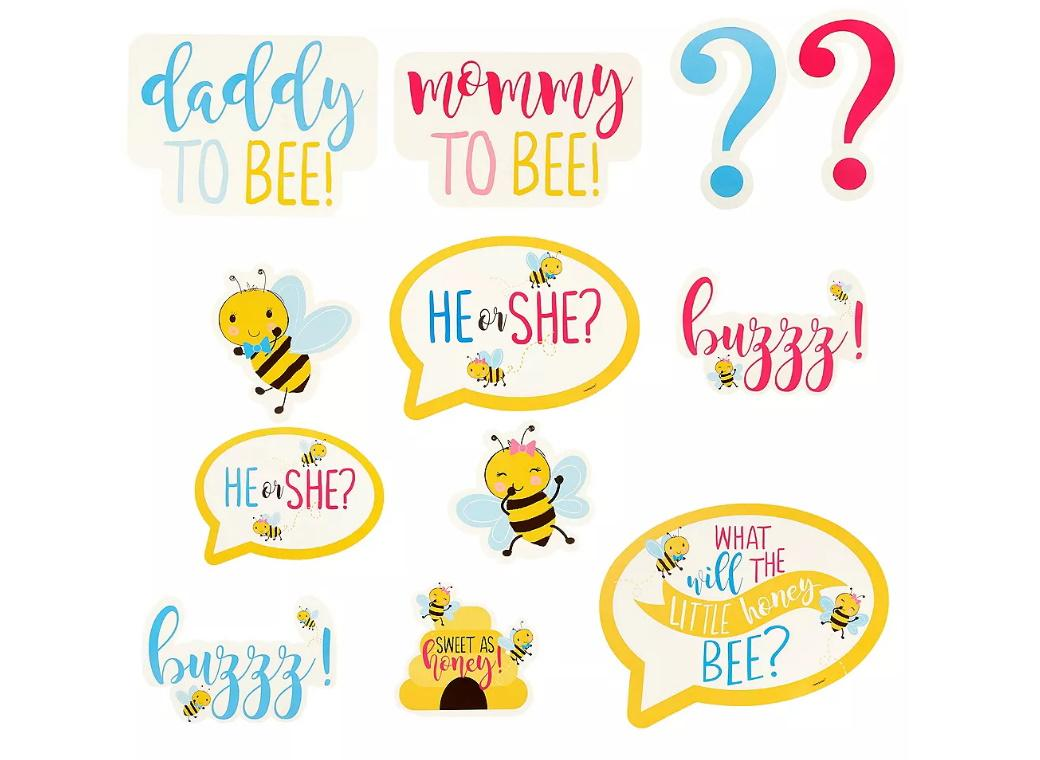 What Will It Bee? Cutouts 12pk