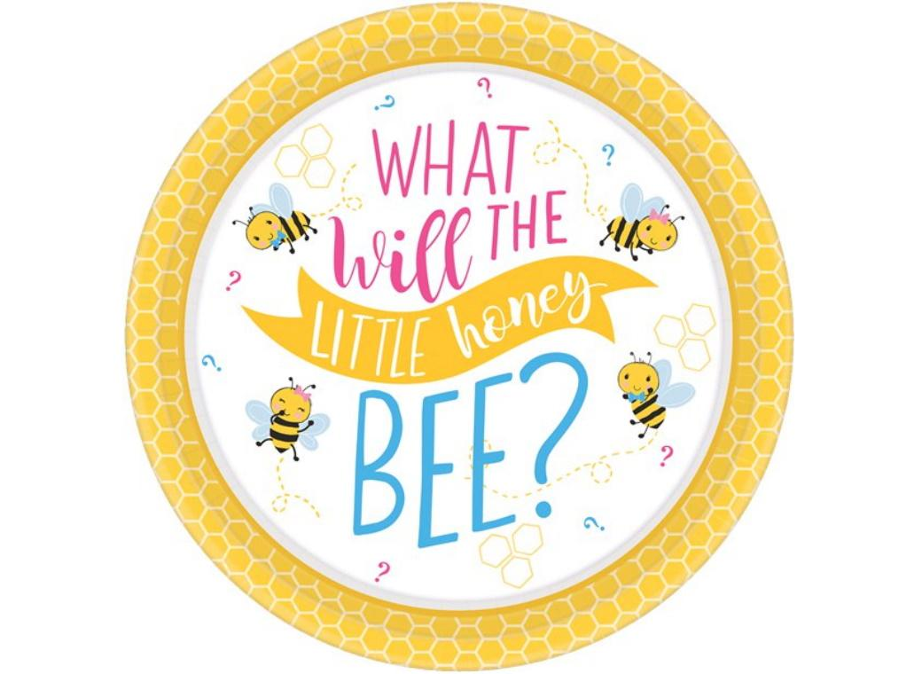 What Will It Bee? Dinner Plates 8pk