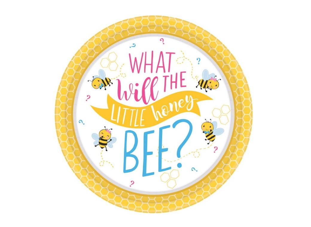 What Will It Bee? Lunch Plates 8pk