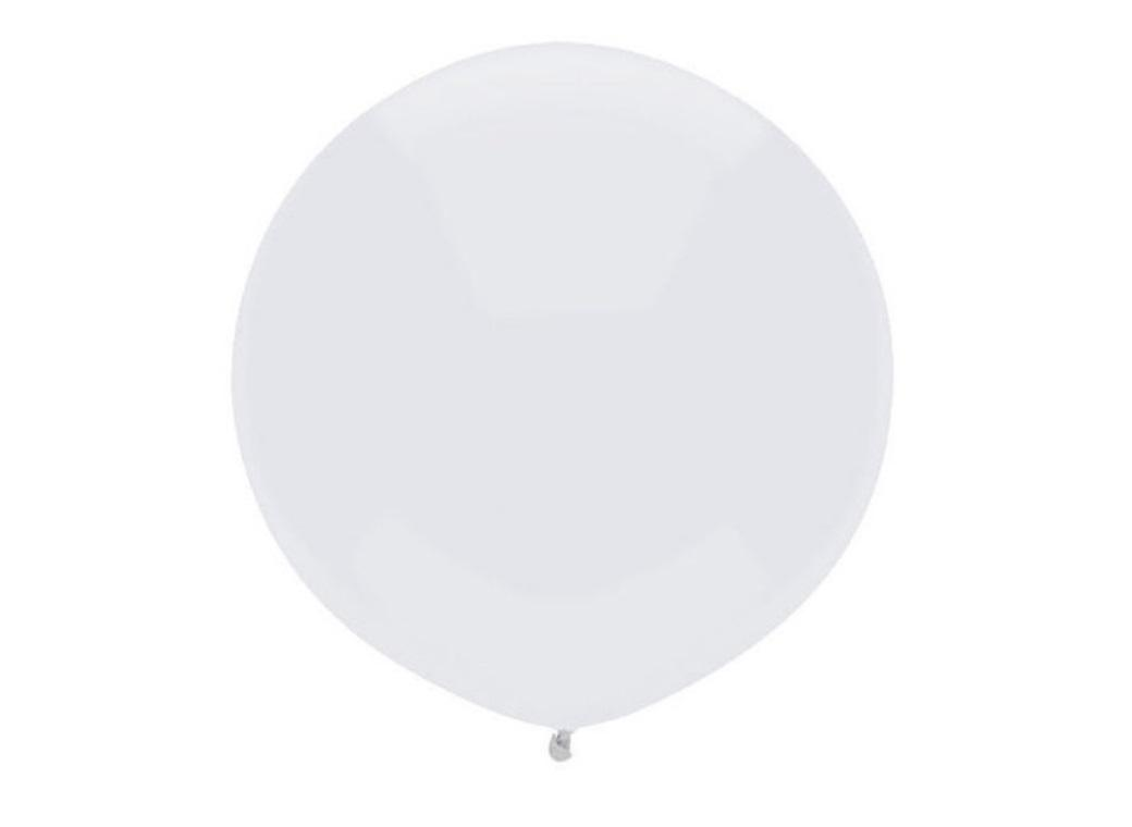 43cm Balloon - Bright White