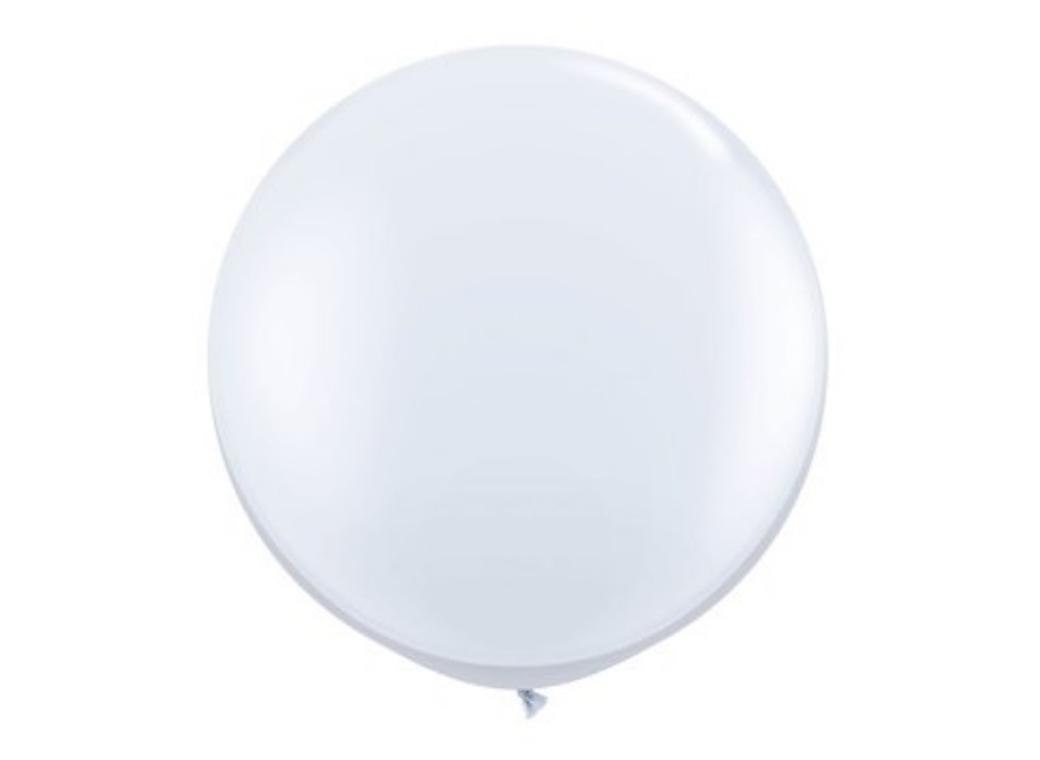 Jumbo Balloon - White