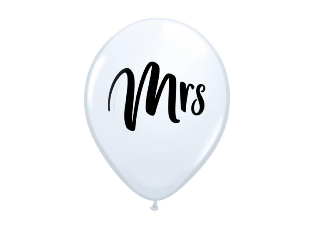 White MRS Balloon