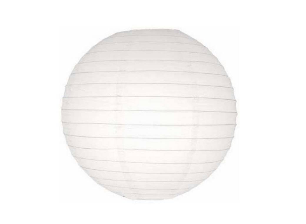 Paper Lantern White - 24.5cm