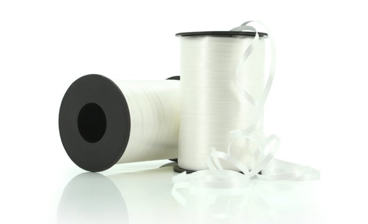 Curling Ribbon - White 91m