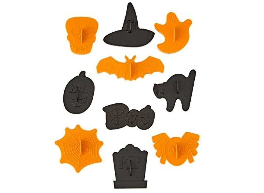 Wilton Spooky Stamp 10pce Cookie Cutter Set