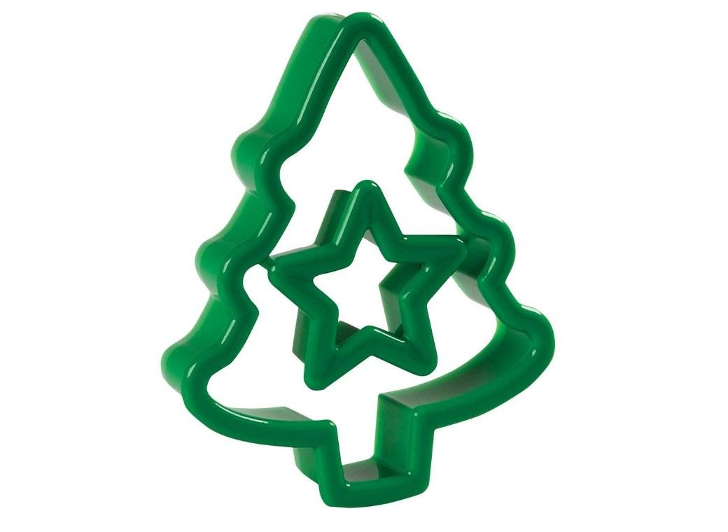 Wilton 2pc Cookie Cutter - Christmas Tree