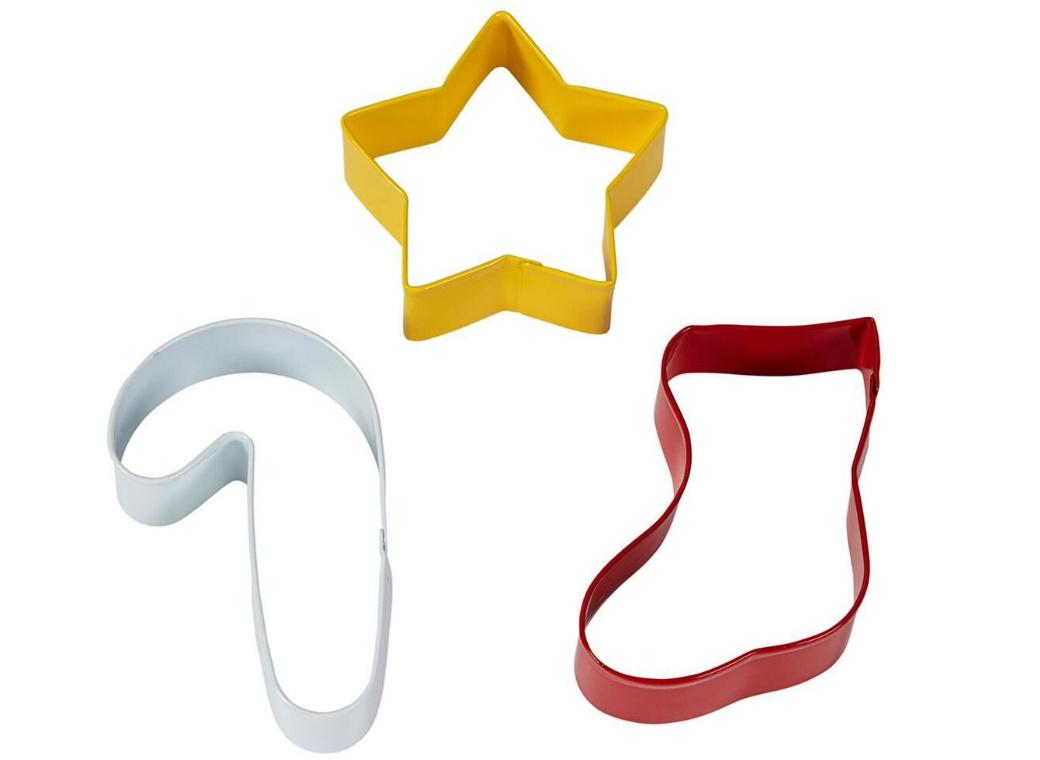 Wilton 3pce Star Stocking Cookie Cutter Set