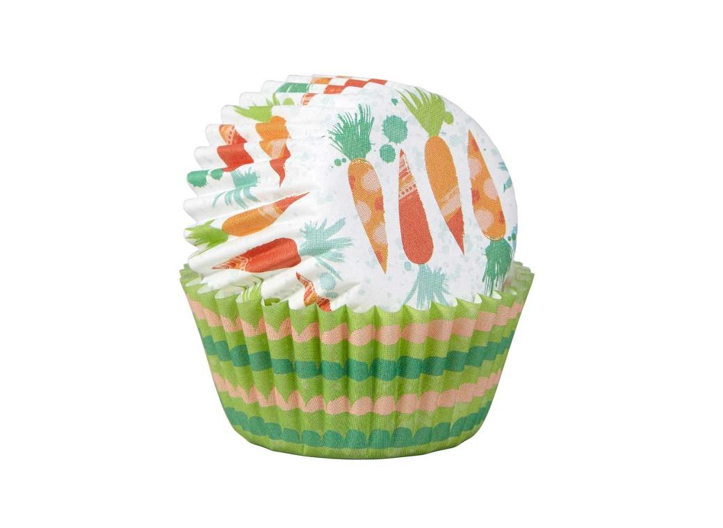 Wilton Bunny & Carrot Mini Cupcake Cases 100pk