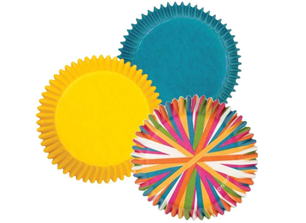 Wilton Colour Wheel Cupcake Cases 75pk