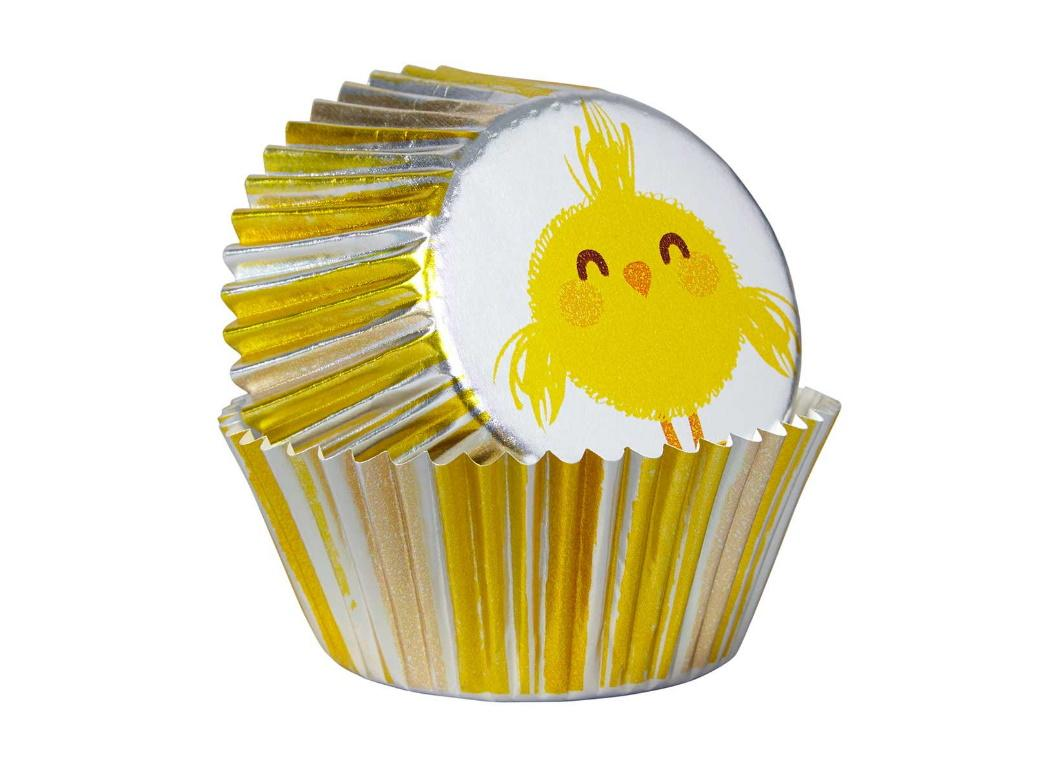 Wilton Cute Chick Foil Cupcake Cases 24pk