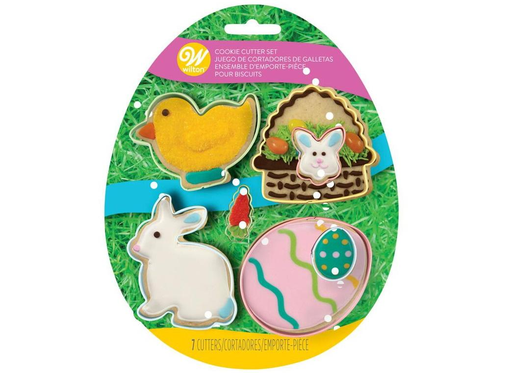 Wilton Easter Cookie Cutter 7pce Set