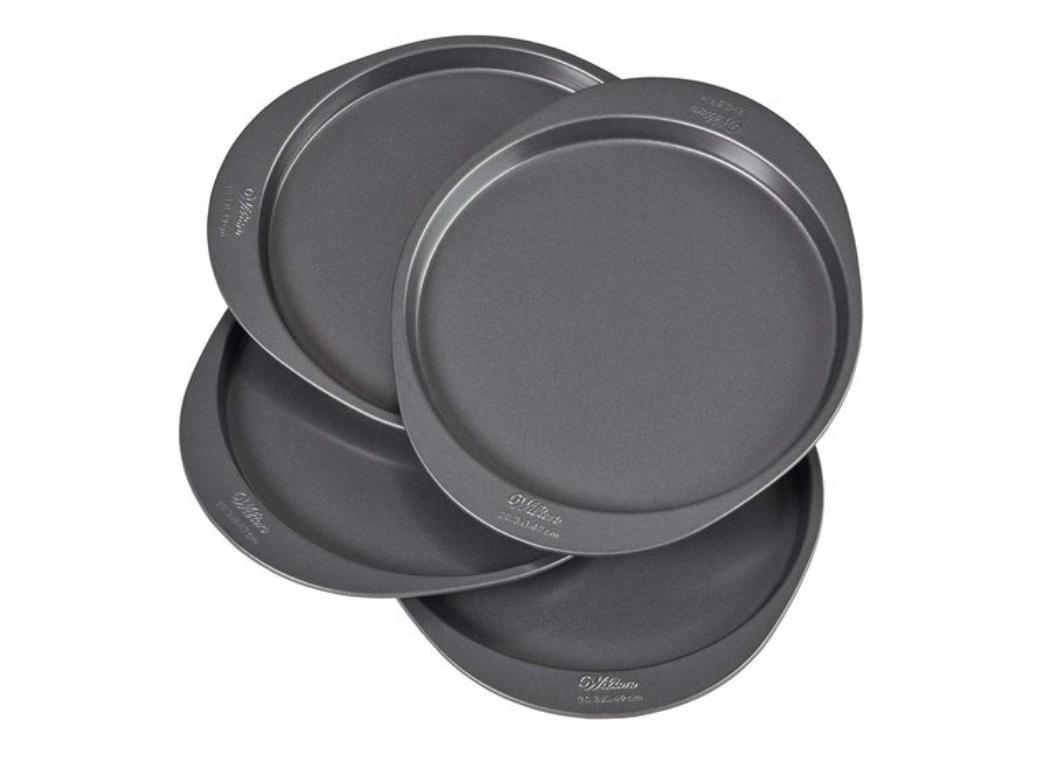 "Wilton Easy Layers 4 Layer Cake Pan Set - 8"" Round"