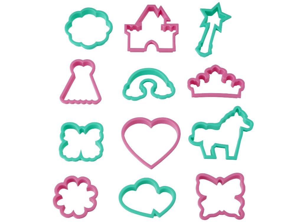 Wilton 12pce Cookie Cutter Set - Girl