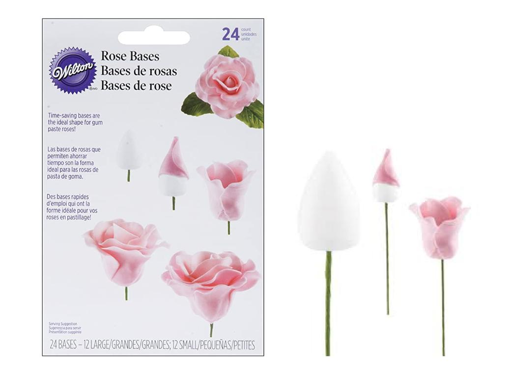 Wilton Gum Paste Rose Bases - 24pk