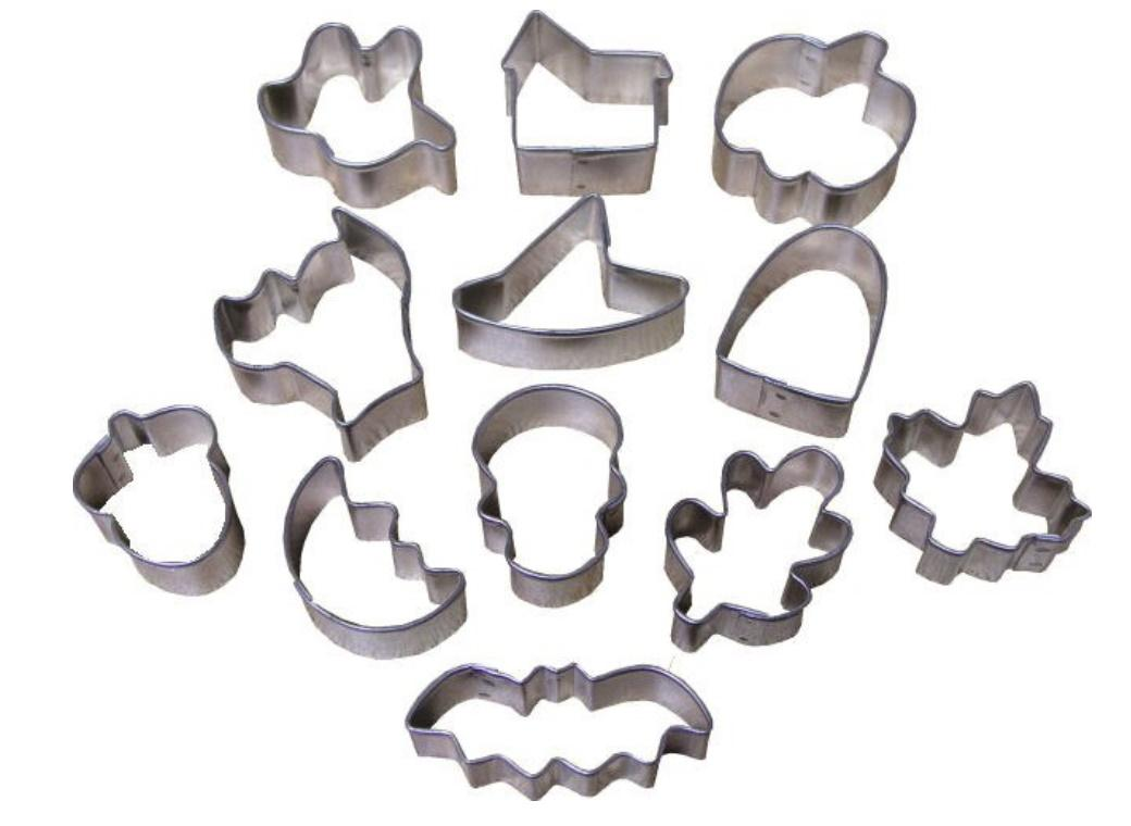 Wilton Halloween Mini Cookie Cutter Set 12pce