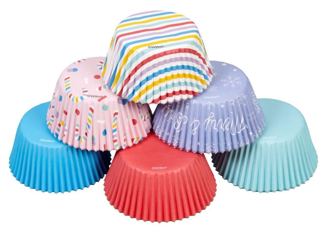 Wilton Holiday Mix Cupcake Cases 150pk