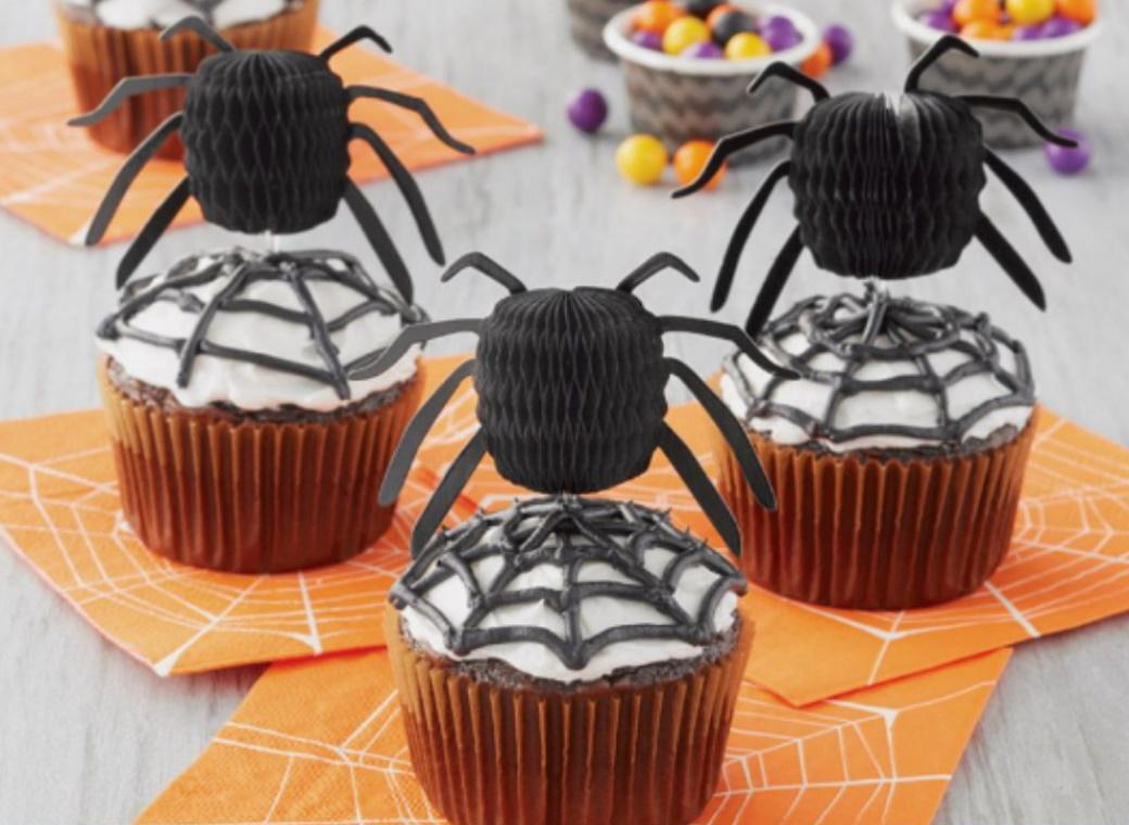 Wilton Honeycomb Spider Cupcake Toppers 12pk