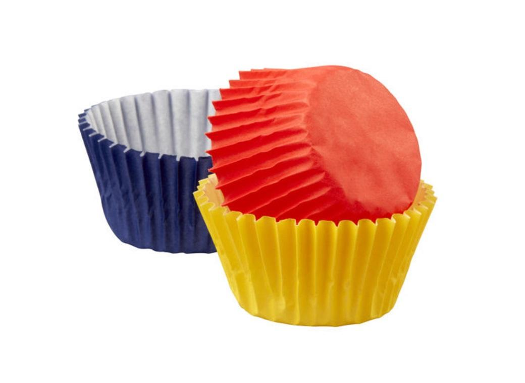 Wilton Mini Cupcake Cases - Primary Colours