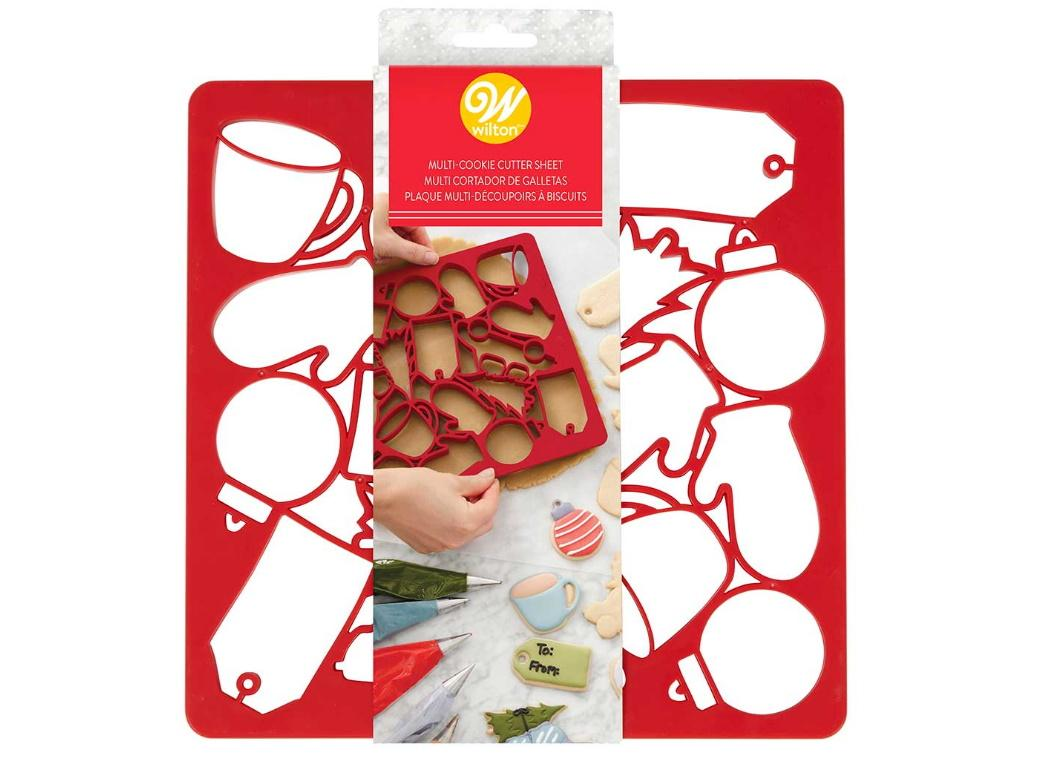 Wilton Christmas Multi Cookie Cutter Sheet