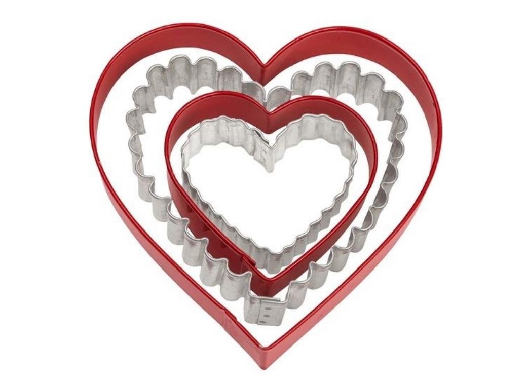 Wilton Nesting Hearts 4pce Cookie Cutter Set