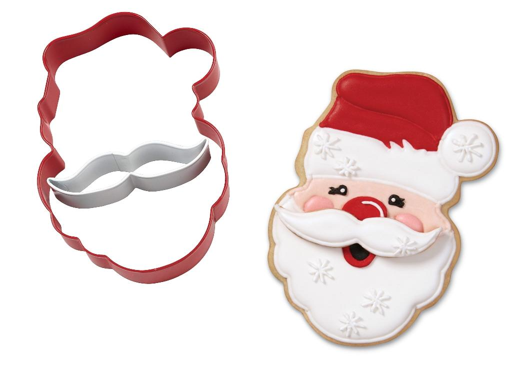 Wilton Santa 2pce Cookie Cutter Set