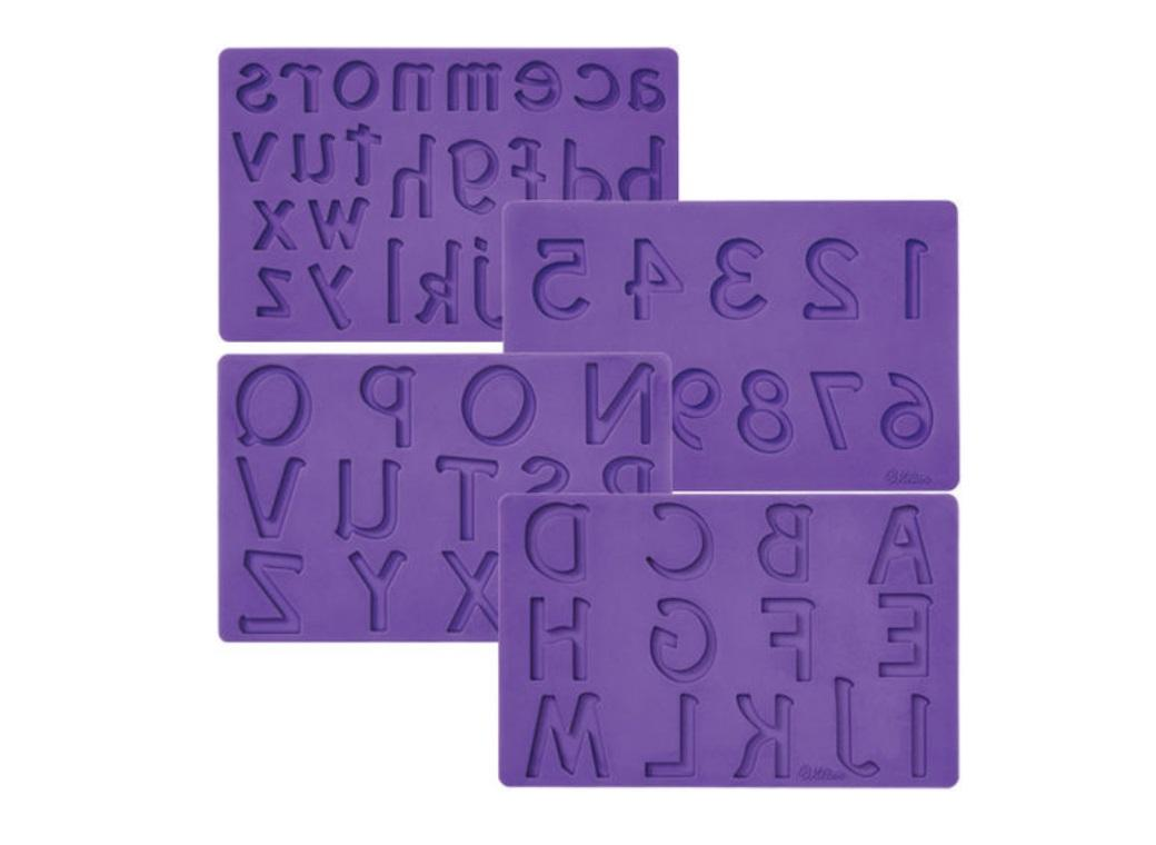 Wilton Silicone Numbers&Letters Mould